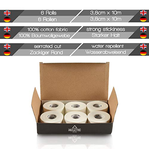 Zoom IMG-3 heletic sport tape 6 rotoli