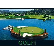 Golf 2017 - Sportkalender / Golfkalender international (50 x 34)