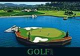 Golf 2017 - Sportkalender/Golfkalender international (50 x 34)