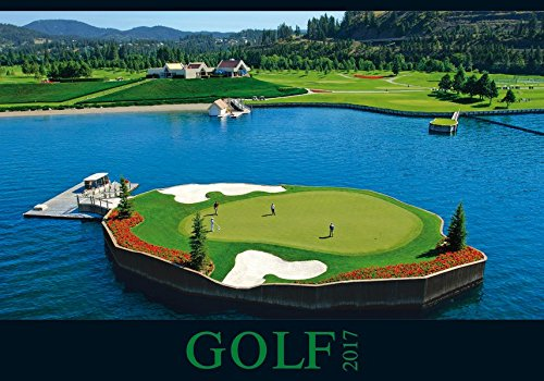 Golf 2017 - Sportkalender/Golfkalender international (50 x 34) (Italienische Golf)