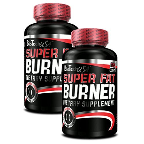 *BioTech USA Super Fat Burner 2er Pack, (2 x 120 Kapseln)*