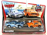 Disney Pixar - V4803 - Cars 2 - Die-Cast 1:55 - Exclusive - Mater's Secret Mission - Finn McMissile mit Waffe und Grem