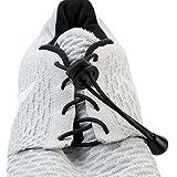 Flexy Lock Lace Schnell-Schnürsystem aus Polyester in scharz in vielen Farben erhältlich auch geeignet als Triathlon-Schnürsystem, ideal für Kinder, Senioren oder körperlich eingeschränkte Personen