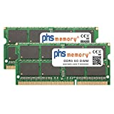 16GB (2x8GB) Kit RAM memory for Synology DiskStation DS1815+ DDR3 SO DIMM 1600MHz