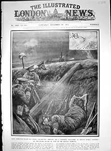 Coton-poudre Britannique Improvisé 1914 de Bidon de Bourrage de Fossés de Guerre d'Engine