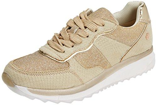 XTI 47792, Zapatillas Mujer, Dorado Gold, 36 EU