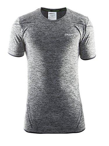 Craft Active Comfort RN SS M T-Shirt Unterhemd Shirt Top Yoga Freizeit Herren von notrash2003 Schwarz