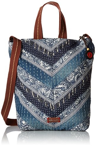 sakroots-artist-circle-campus-tote-navy-spirit-desert-patch