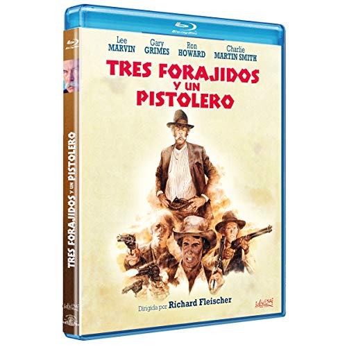 Tres Forajidos y un Pistolero [Blu-ray]