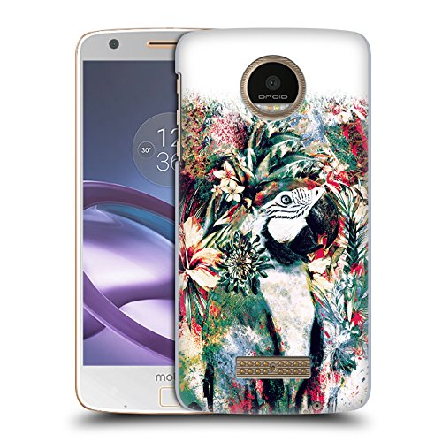 Official Riza Peker Parrot Animals Hard Back Case for Moto Z Force/Z...