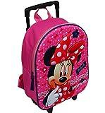 Spielwaren Klee Disney Minnie Mouse Trolley Rucksack Kindertrolley Koffer Tasche Mädchen 8640