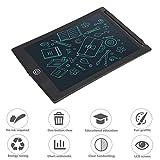 Lazmin Tavoletta Elettronica Digitale LCD da 8,5 Pollici, Blocco Note Portatile per Scrittura Digitale Blocco Note elettronico Scheda promemoria Blocco Note(Nero)