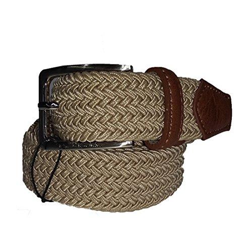 Cintura uomo Renato Balestra intrecciata elasticizzata Beige cod: CN0E390