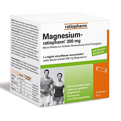 Magnesium Ratiopharm 300 40 stk