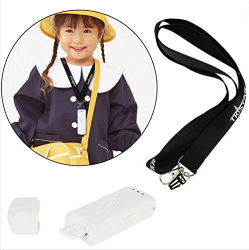 TKSTAR GPS Tracker, Tragbar Mini GPS, USB Chargeable GPS Tracker mit SOS Calling Mini Location Finder, GPS für Kinder