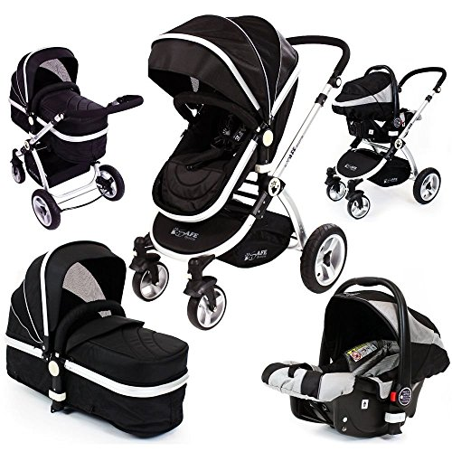 iSafe 2in1 – Grey (With Car Seat) 51BeponrIOL