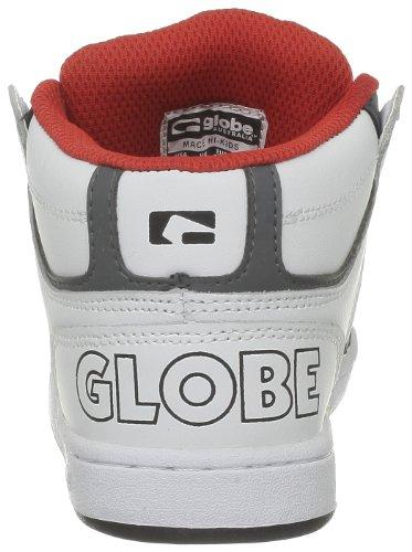 Globe Mace Hi Kids, Jungen Skateboardschuhe Weiß (White Charcoa)