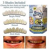 5starservices14 Zahnpflege-Set, 3 Farbtöne, sofortiges Lächeln, für temporäre Zahnzwischenräume, bequem, flexibel, für die Zahnpflege