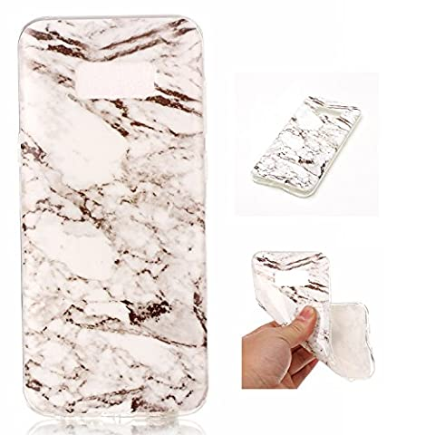 BONROY® Samsung Galaxy S8 Edge Coque Housse Etui,Fashion Belle Série Marbling Ultra-Mince Thin Soft Silicone Etui de Protection pour Souple Gel TPU Bumper Poussiere Resistance Anti-Scratch Case Cover Couverture Pour Samsung Galaxy S8 Edge