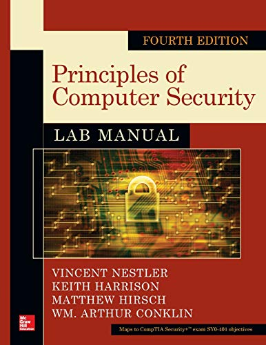 Principles of Computer Security Lab Manual (Zertifizierung Simulation)