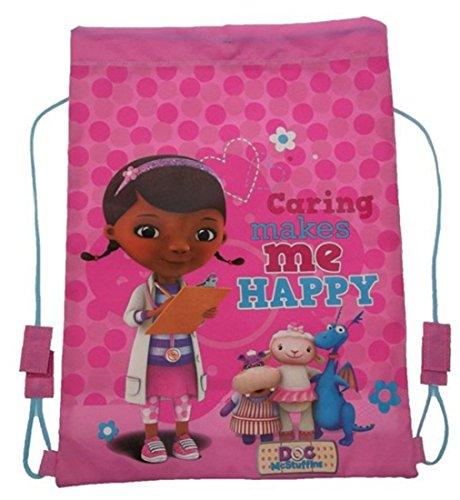 Disney Doc McStuffins pour entraînement gym à cordons pour fille Bretelles sac à dos de piscine-Rentrée scolaire