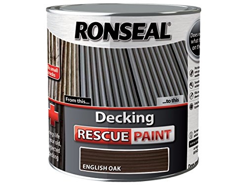 Those struggling with old decks will love this product as its meant to seal cracks and hide greying wood, leaving a fresh, rejuvenated layer on top of your existing deck. Furthermore, it covers an area up to 10m2 per litre, meaning you can give your deck a much deserved double coat. It is also offered in a variety of colours so you can have fun with it.