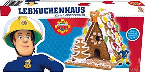Preisvergleich Produktbild Hack Feuerwehrmann Sam Lebkkuchenhaus zum Selberbasteln,  499 g