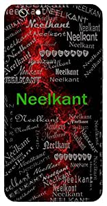 Neelkant (A Jewel, Lord Vishnu) Name & Sign Printed All over customize & Personalized!! Protective back cover for your Smart Phone : Vivo Y55L