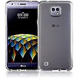 TBOC® Funda de Gel TPU Transparente para LG X cam (K580-K580TR-K580i-K580F-K580AR) de Silicona Ultrafina y Flexible