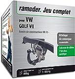 Rameder Attelage escamotable pour VW Golf VII + Faisceau 7 Broches...