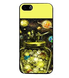 PRINTVISA Abstract Space Case Cover for Apple iPhone 4S