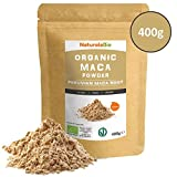 Organic Maca Powder [ Gelatinised ] 400g | 100% Peruvian, Natural and Pure, extract from Organic Maca Root. Superfood rich in amino acids, fibre, vitamins and minerals | Vegetarian and Vegan friendly.
