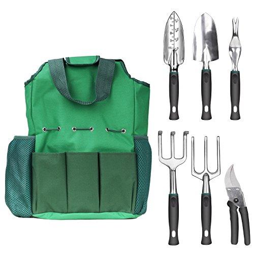 Nuovoware-Set-de-Jardinage-Kit-6-Pieces-en-Alliage-d-039-Aluminium-Outils-de-Jard