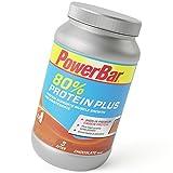 PowerBar Casein Whey Protein-Pulver – Protein Plus 80% – Eiweißpulver ohne Farbstoffe und Aspartam – Protein Shake – 700g Schokolade
