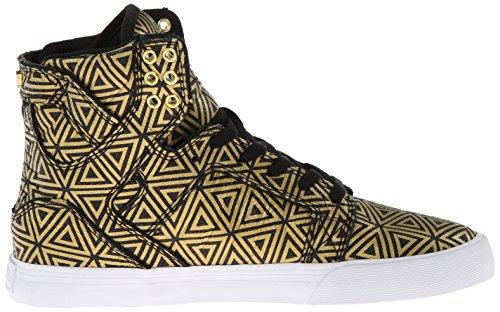 Supra - Women-skytop, Sneaker a collo alto Donna Oro (Gold (GOLD/BLACK   GLB))