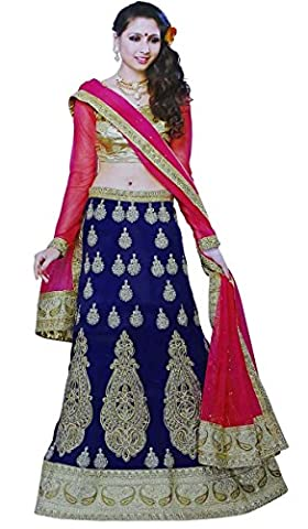 Indian Lehanga Designer Ethnic Embroidered Bridal Wedding Lehanga