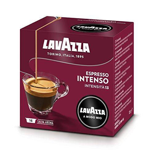 Lavazza A Modo Mio Café Espresso Intenso 16 capsules - Lot de 2