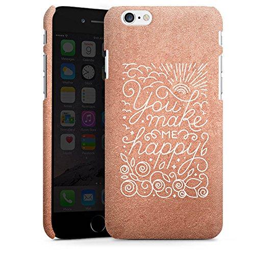 Apple iPhone X Silikon Hülle Case Schutzhülle Sprüche Love Happy Premium Case matt