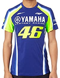 Valentino Rossi Camiseta Yamaha Racing Azul Royal