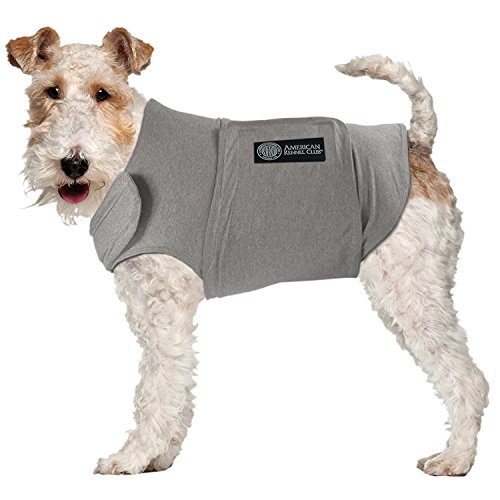 American Kennel Club, Cappotto Anti ansia e Antistress per Cani, Grey, x-Large