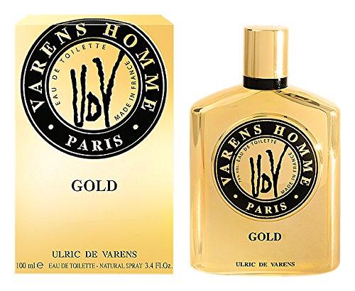 Ulric de Varens Gold Eau de Toilette pour Homme 100 ml
