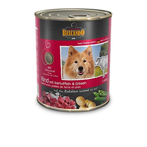 BELCANDO Belcando Umido Manzo Patate GR. 800 Cibo Secco Senza Cereali Per Cani