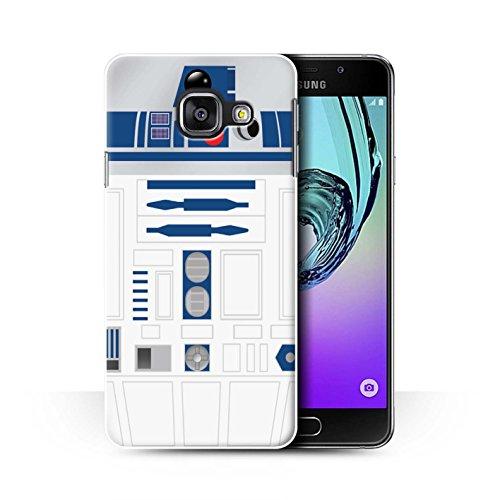 Coque de Stuff4 / Coque pour Samsung Galaxy A3 (2016) / Unité R2 Bleue Design / Astromech Droïde Collection