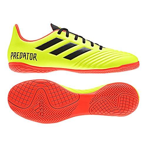 adidas Herren Predator Tango 18.4 In Futsalschuhe, Gelb (Amasol/Negbás/Rojsol 000), 46 2/3 EU