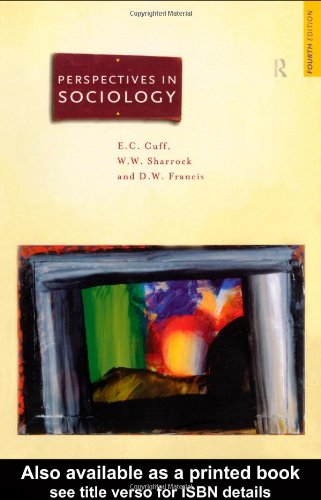 Perspectives in Sociology: Classical and Contemporary
