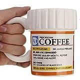 Aliciashouse Kreative Rezept Keramik RX Drug Medizin Kaffeebecher Tassen