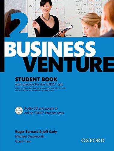 Business Venture 2 Pre-Intermediate: Student's Book Pack (Student's Book + CD) por Roger Barnard