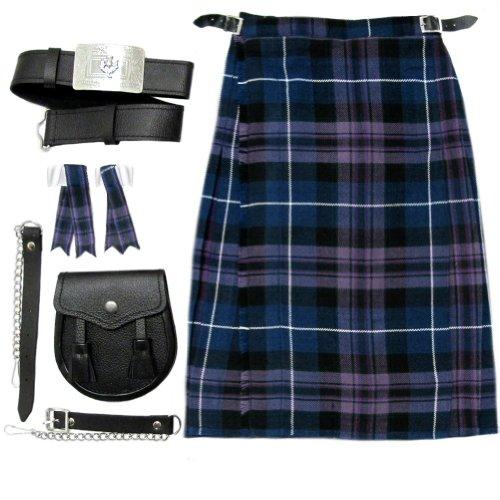 Tartanista - Baby/Jungen Set aus Kilt, Sporrangürtel & Strumpfhaltern - Honour Of Scotland - 7-8 Jahre - Taille 61-66cm (24-26