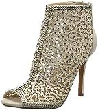 Buffalo Shoes Damen RK 1507-146 Microfiber Kurzschaft Stiefel, Beige (Nude 01), 38 EU