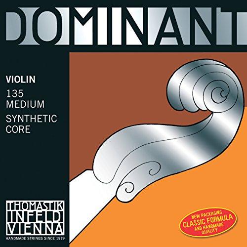 Dominant Strings 132S 4/4 D-Saite für Geige, stark, mit Aluminium umwickelt